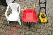 Trillebør stol plæneklipper