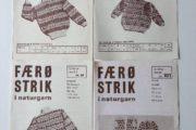 Strikke opskrifter -Færø trøje