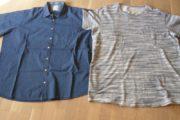 Skjorte + T-shirts str. XXXL