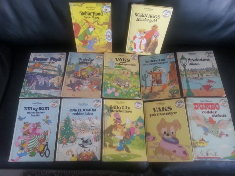 Disney Bøger. - Præstevejen 44 - 12 stk. Disney bøger sælges samlet for 40 kr. - Præstevejen 44