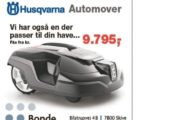 Automower robotplæneklipper