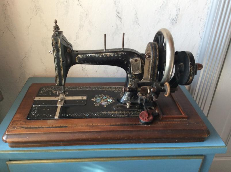 Retro symaskine