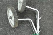 Støttehjul til barnecykel