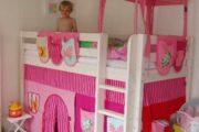 Flexa mellemhøj seng med tårn
