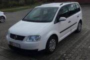 VW Touran, nedvejet