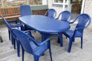 Havebord med stole
