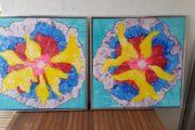 Acrylmalerier