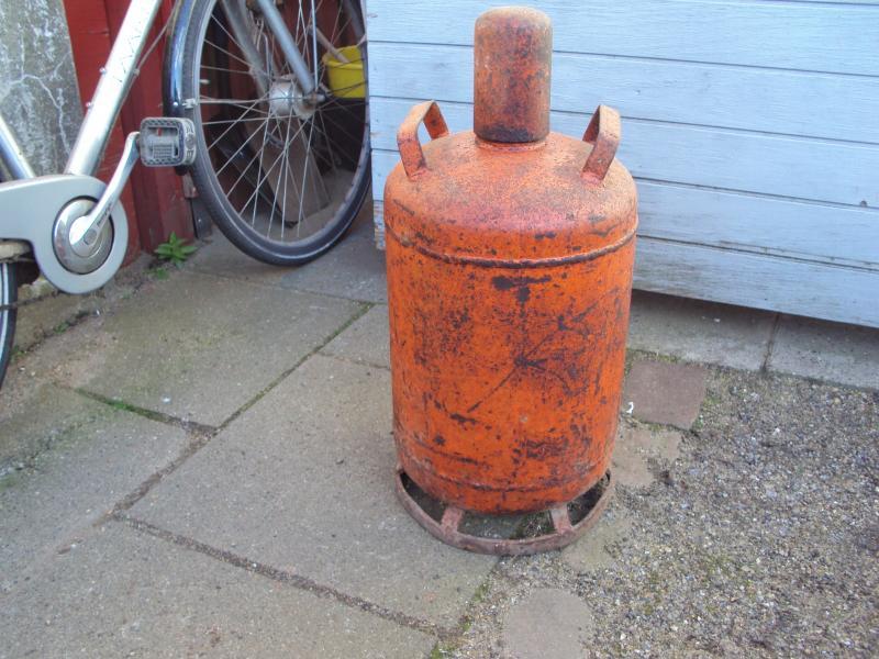 Fyldt Gas flaske