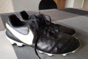 Fodboldstøvle læder str. 40.5