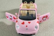 Barbie Hello Kitty bil
