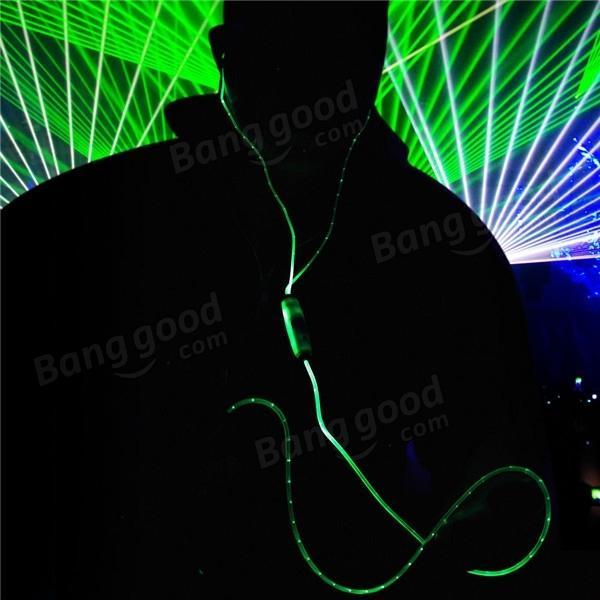 flashing light øretelefoner