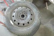 sprit nye dæk på Fiat Ponto fæ