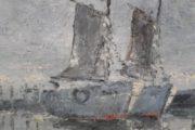 Maleri olie på lærred