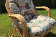 Bambus/Kurvemøbler 4 lænestole