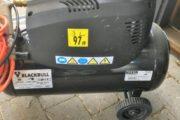 Kompresor med manometer og sla