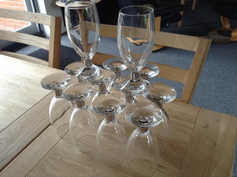 Erik Bagger glas