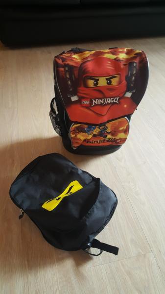 Ninjago skoletaske