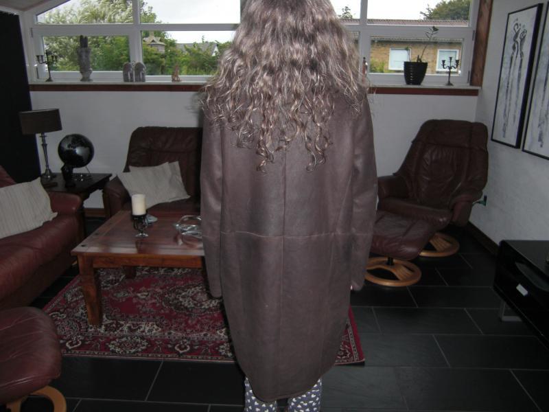 Rulamsfrakke VSP ( ægte læder)