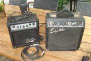 2 små guitarforstærkere