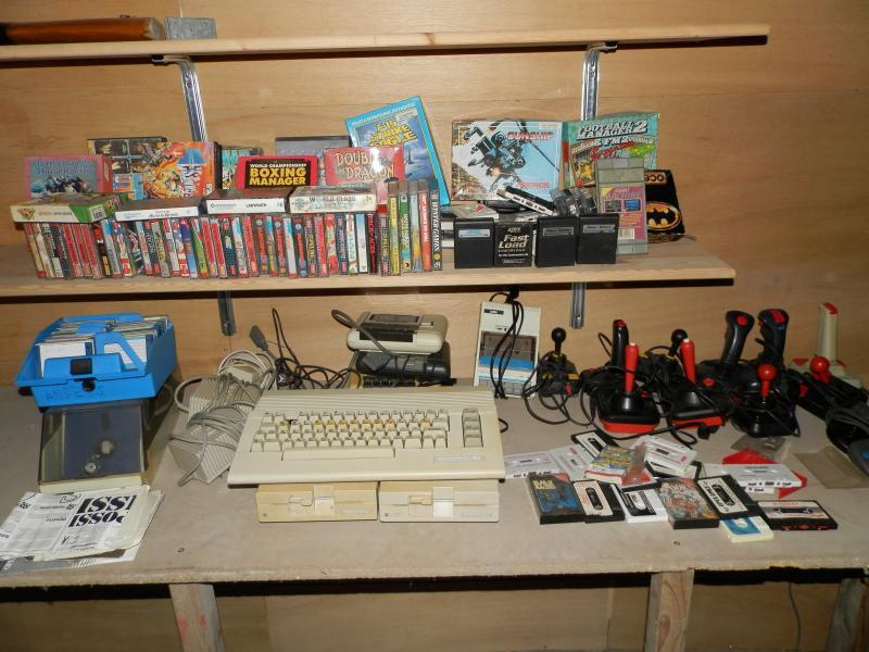 Gamle konsoller og computere