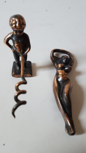 proptrækker oplukker antik