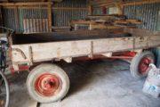 Flot gammel gummivogn