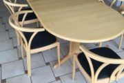 Bøge Spisebord m/stole