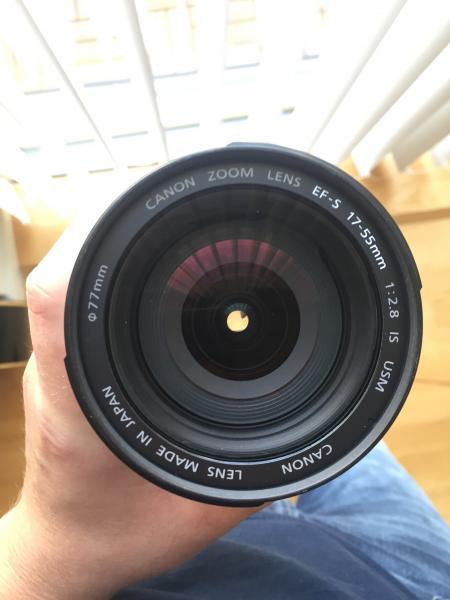 Canon Kamera + udstyr