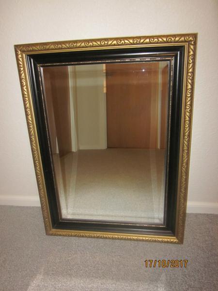Spejl - Granvænget 20 - Spejl med facetslebet kant 60X80 cm. - Granvænget 20