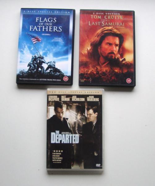 DVD (soldat/krigsfilm)