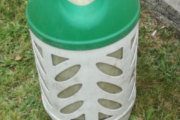 Letvægts gasflaske