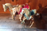 Heste, 4 stk