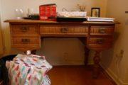 Antikt skrivebord fyr