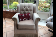 Sofa og 2 stole