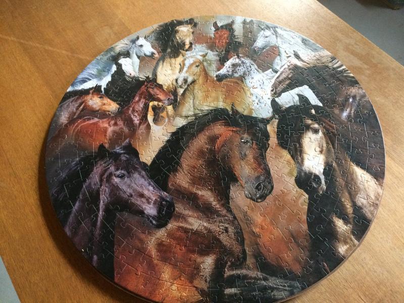 Hestepuslespil