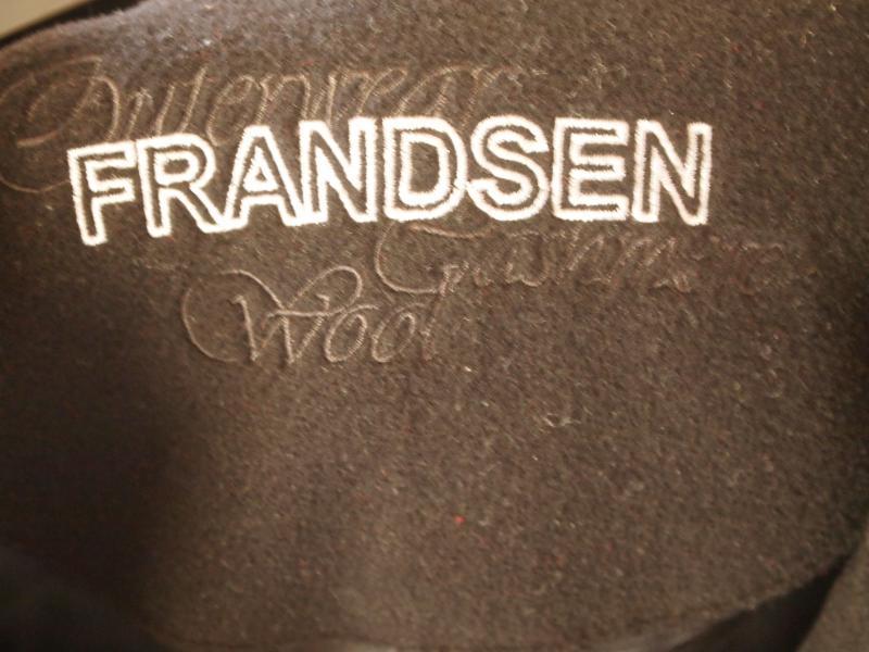 Frandsen Sort Frakke
