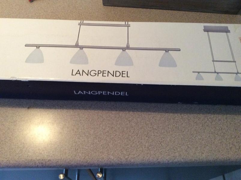 Langpendel - Fjordvej 131, Junget - Lampe sælges. Aldrig været brugt. - Fjordvej 131, Junget