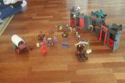 Playmobil ridderborg & cowboys