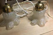 2 gamle lamper