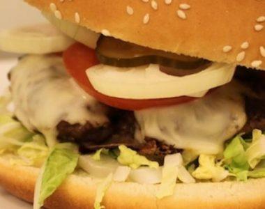 Kvalitets burgere fra Spisestedet