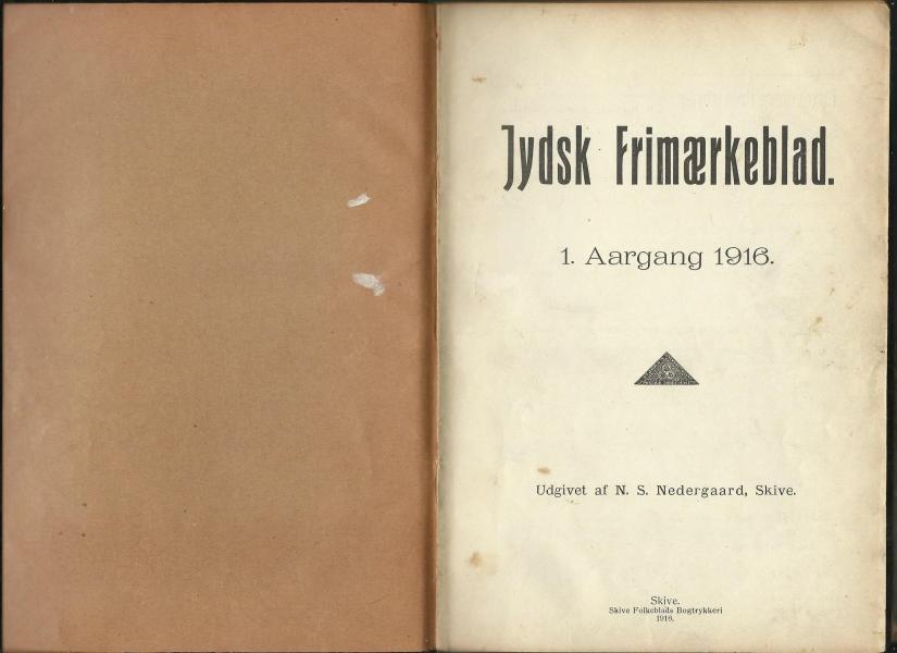 Jydsk frimærkeblad 1916