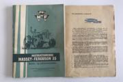 Instruktionsbog Massy Ferguson