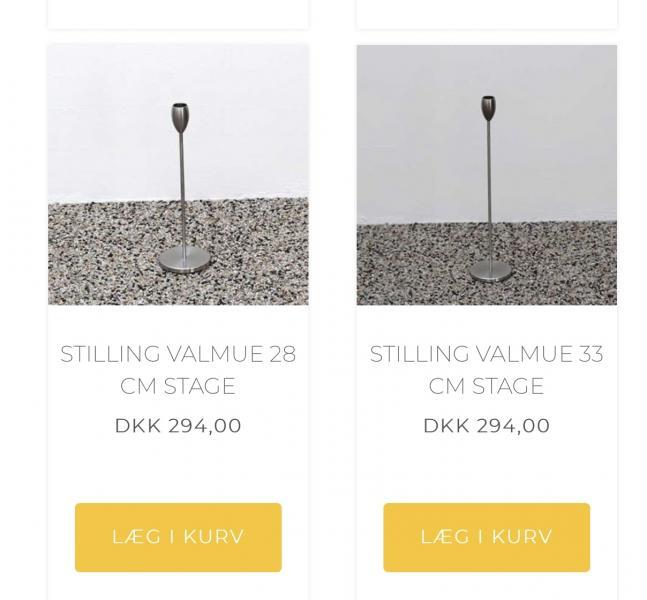 Stilling Design lysestage