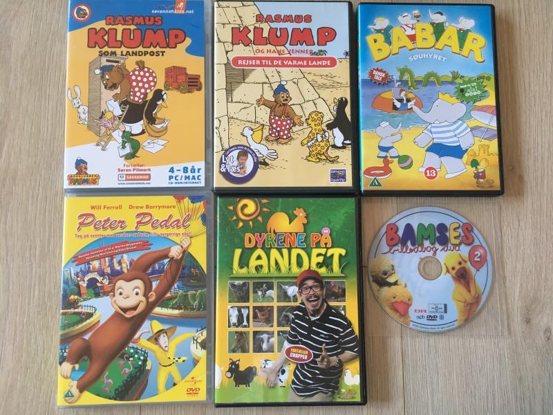 Børne dvd'er
