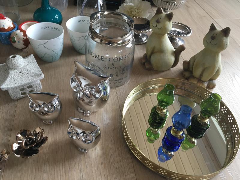 Vaser, stager og pynt