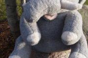 Elefant KÆMPE ca. 60-70 cm høj