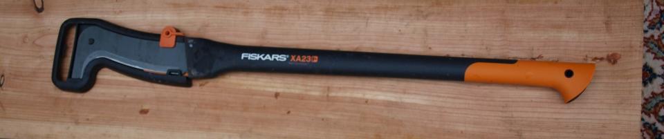 Udtyndingskniv m. langt skaft - Dølbyvej 18 - Fiskars udtyndingskniv med langt skaft. Kun brugt lidt i en sæson. - Dølbyvej 18