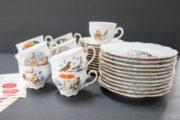 Firkløveren Porcelæn Kaffestel