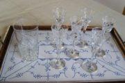 7 Holmegaard glas