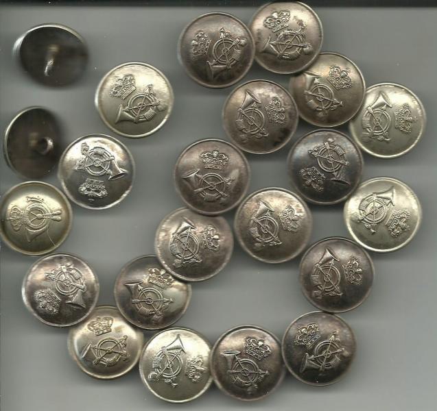 Postens sølvknapper